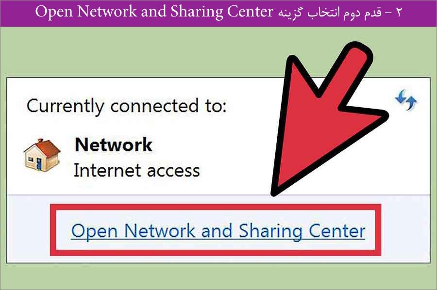 ست کردن IP استاتیک